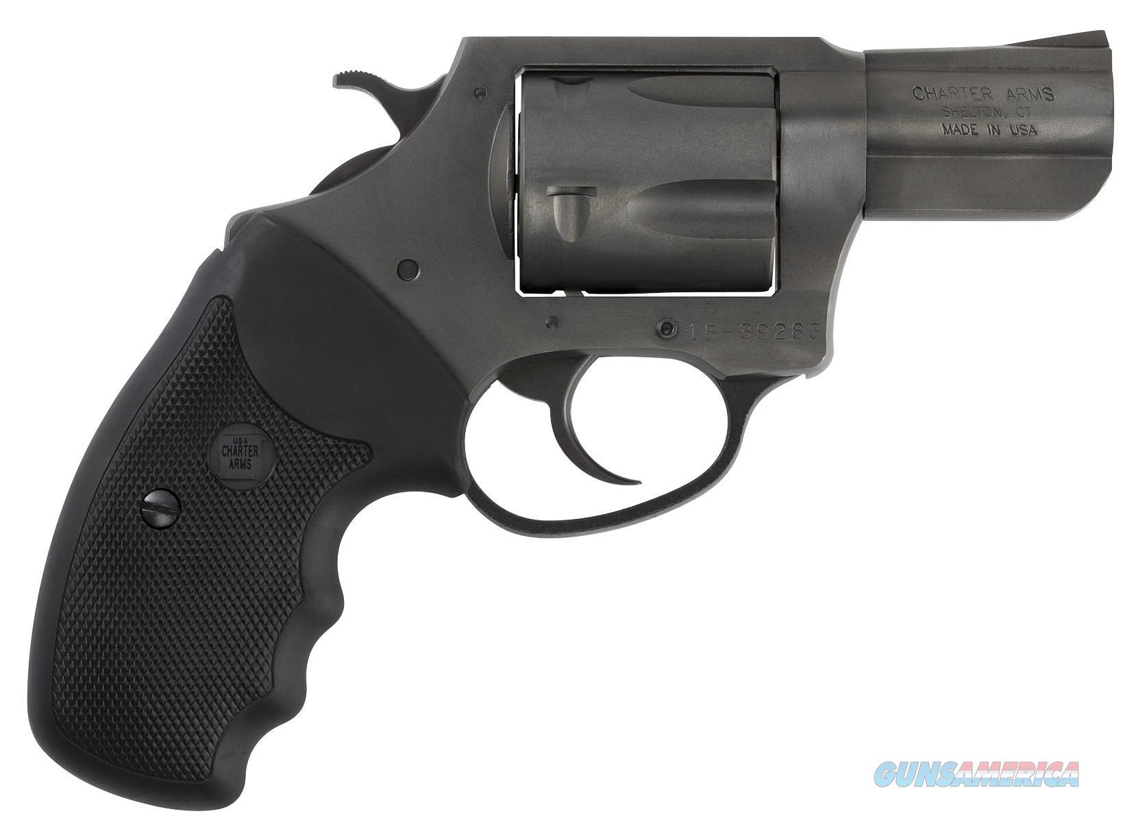 "Charter Arms 69920 Pitbull 9Mm Single/Double 9Mm 2.2"" 5 Black Rubber Black Nitride 69920  Guns > Pistols > C Misc Pistols"