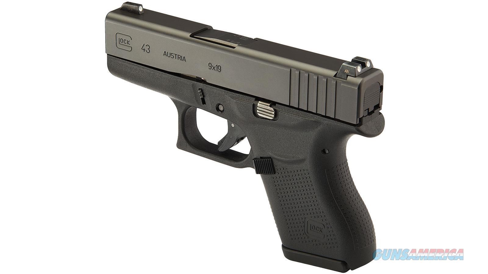 "Glock G43 Ns 9Mm 3.4"" 6Rd PN4350701  Guns > Pistols > G Misc Pistols"