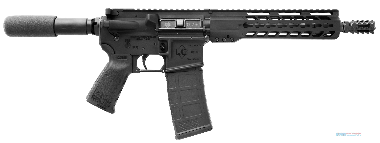 Diamondback Firearms Db15 300Aac Pst 10.5 30Rd DB15P300B10  Guns > Pistols > D Misc Pistols