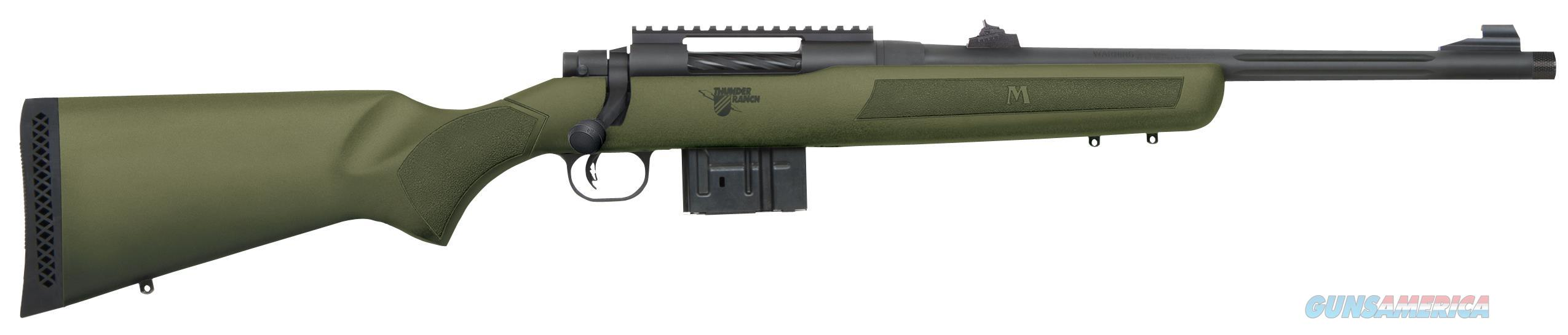 "Mossberg 27798 Mvp Thunder Ranch Bolt 308 Winchester/7.62 Nato 18.5"" 10+1 Synthetic Od Green Stk Blued 27798  Guns > Rifles > MN Misc Rifles"