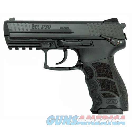 "Heckler & Koch P30s V3 Da/Sa Trigger 40S&W 3.85"" Bbl 3-Dot Fs 13Rd W/Safe M734003S-A5  Guns > Pistols > H Misc Pistols"