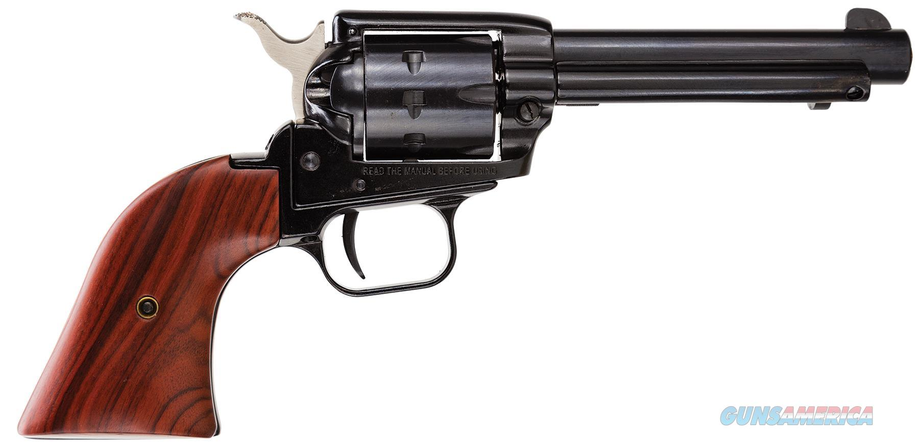 """Heritage Mfg Rr22999mb4 Rough Rider Small Bore Single 22 Long Rifle 4.75"""" 9 Cocobolo Blued RR22999MB4  Guns > Pistols > Heritage"""