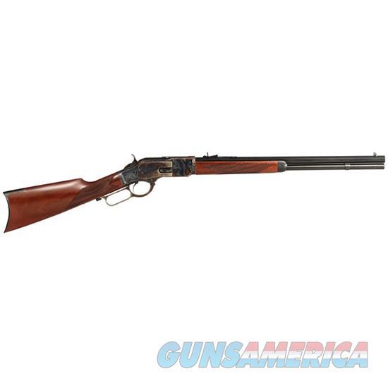 Taylor's & Co Uberti 1873 45Lc 20 Checker Straight 2044  Guns > Rifles > TU Misc Rifles