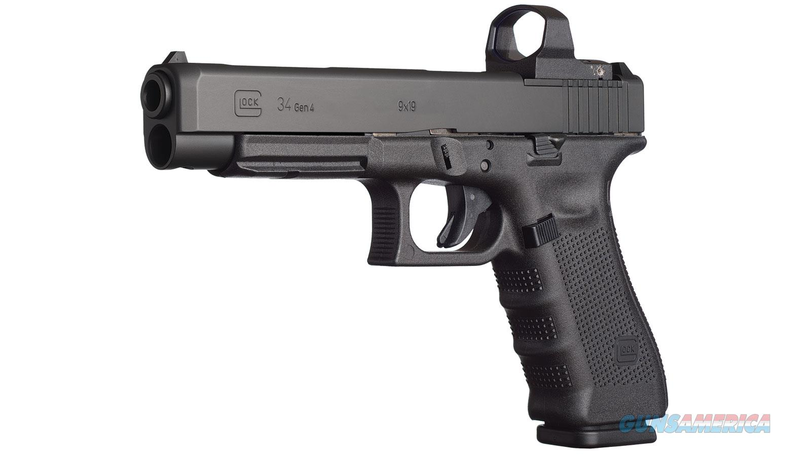 "Glock G34 Mos 9Mm 5.3"" 10Rd UG3430101MOS  Guns > Pistols > G Misc Pistols"