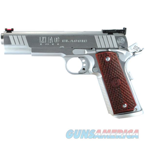"Mac M19cl45c 1911 Classic Sao 45Acp 5"" 8+1 Hardwood W/Logo Hard Chrome M19CL45C  Guns > Pistols > MN Misc Pistols"