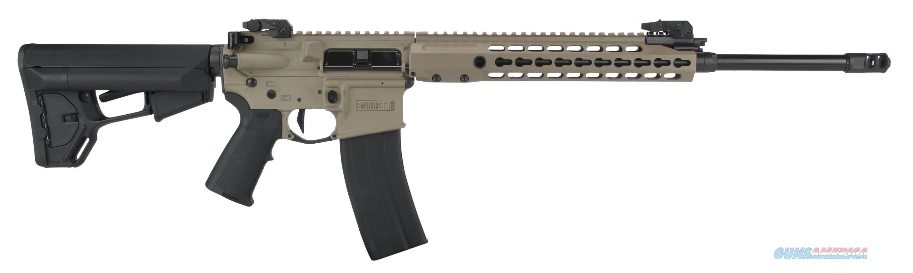 "Barrett 14953 Rec 7 Gen Ii Semi-Automatic 223 Remington/5.56 Nato 18.0"" 30+1 Mag 14953  Guns > Rifles > Barrett Rifles"