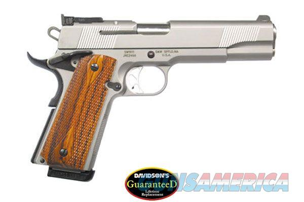 "SMITH & WESSON SW1911 45ACP 5"" SS ADS 108284  Guns > Pistols > Smith & Wesson Pistols - Autos > Steel Frame"
