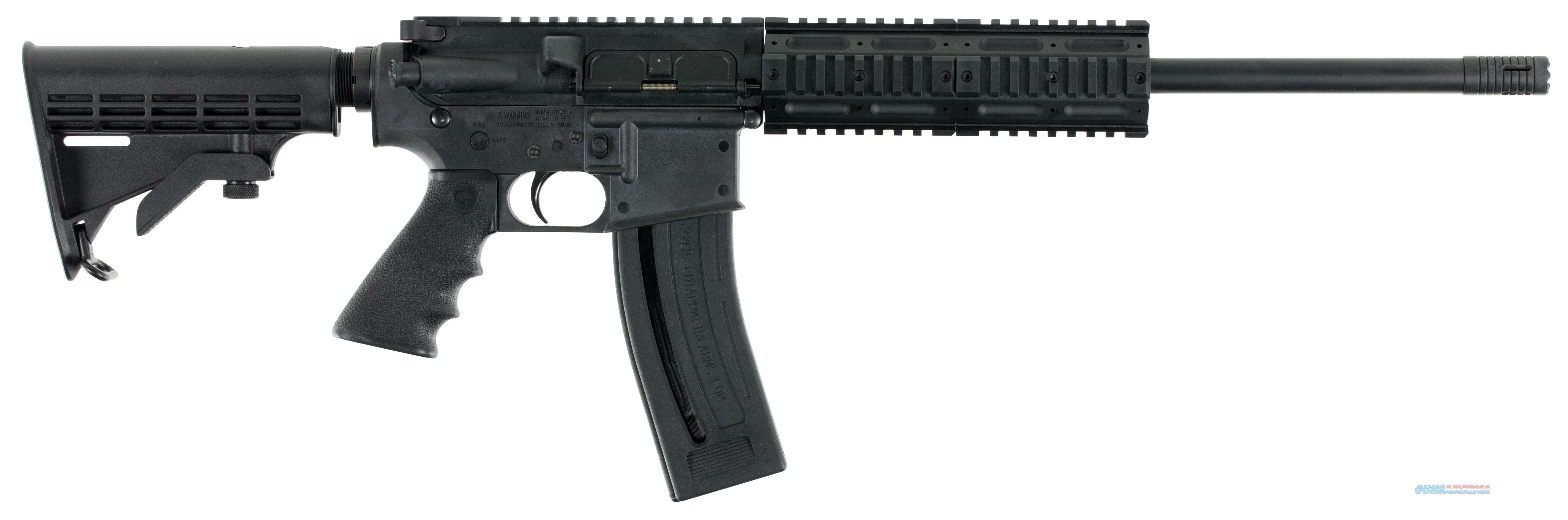 "Chiappa Firearms Cf500.090 M4-22 Gen-Ii Pro Carbine 22 Lr 18.5"" 28+1 6Pos Stk Blk CF500.090  Guns > Rifles > C Misc Rifles"