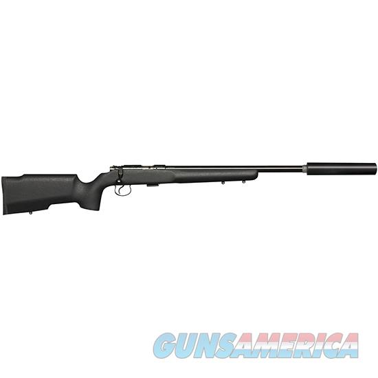 Czusa 455 Varmint Tacticool Supressor Ready 22Lr Blk 02159  Guns > Rifles > C Misc Rifles