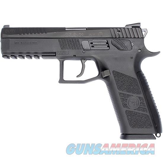 Czusa 75 P-09 Duty 40Sw Blk Poly 2 15Rd 91621  Guns > Pistols > C Misc Pistols