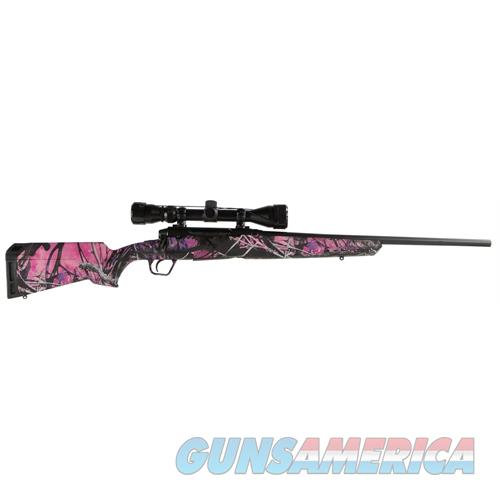 Savage Arms Axis Xp Youth 7Mm-08 3-9X40 Matte/Muddy Girl Ergo 57273  Guns > Rifles > S Misc Rifles