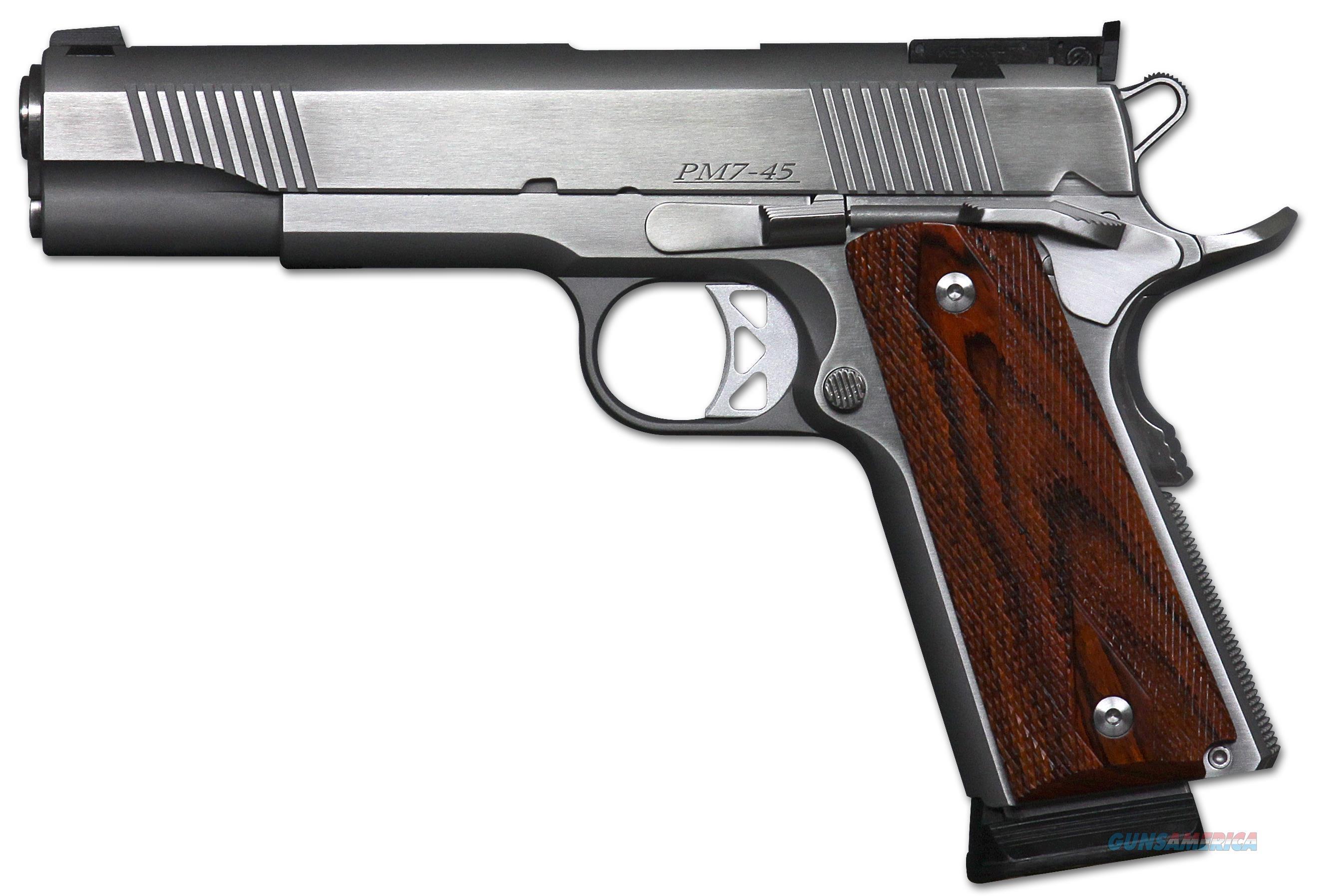 """Dan Wesson 01900 Pointman Seven Ca Comp Sao 45 Acp 5"""" 8+1 Cocobolo Grip Stainles 01900  Guns > Pistols > C Misc Pistols"""