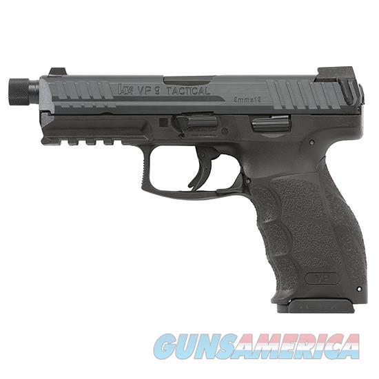 Heckler & Koch Vp9 Tactical 9Mm 4.7 Blk Ns 3 10Rd 700009TLEL-A5  Guns > Pistols > H Misc Pistols