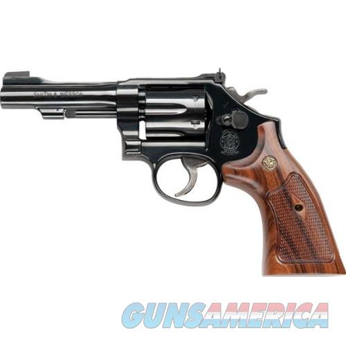 Smith & Wesson 48 22Mag 4 6Rd Blue Wood Grip 150717  Guns > Pistols > S Misc Pistols