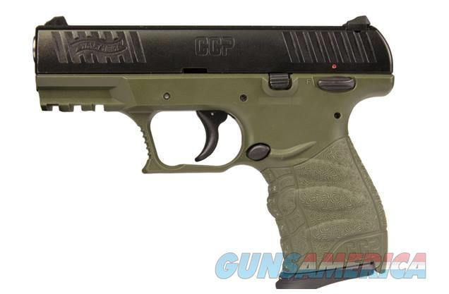 "WALTHER ARMS CCP 9MM FOREST GREEN 3.54"" 8+1 5080311  Guns > Pistols > W Misc Pistols"