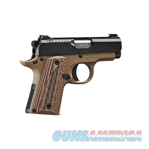 Kimber 380Acp Micro Desert Night KIM3300167  Guns > Pistols > K Misc Pistols