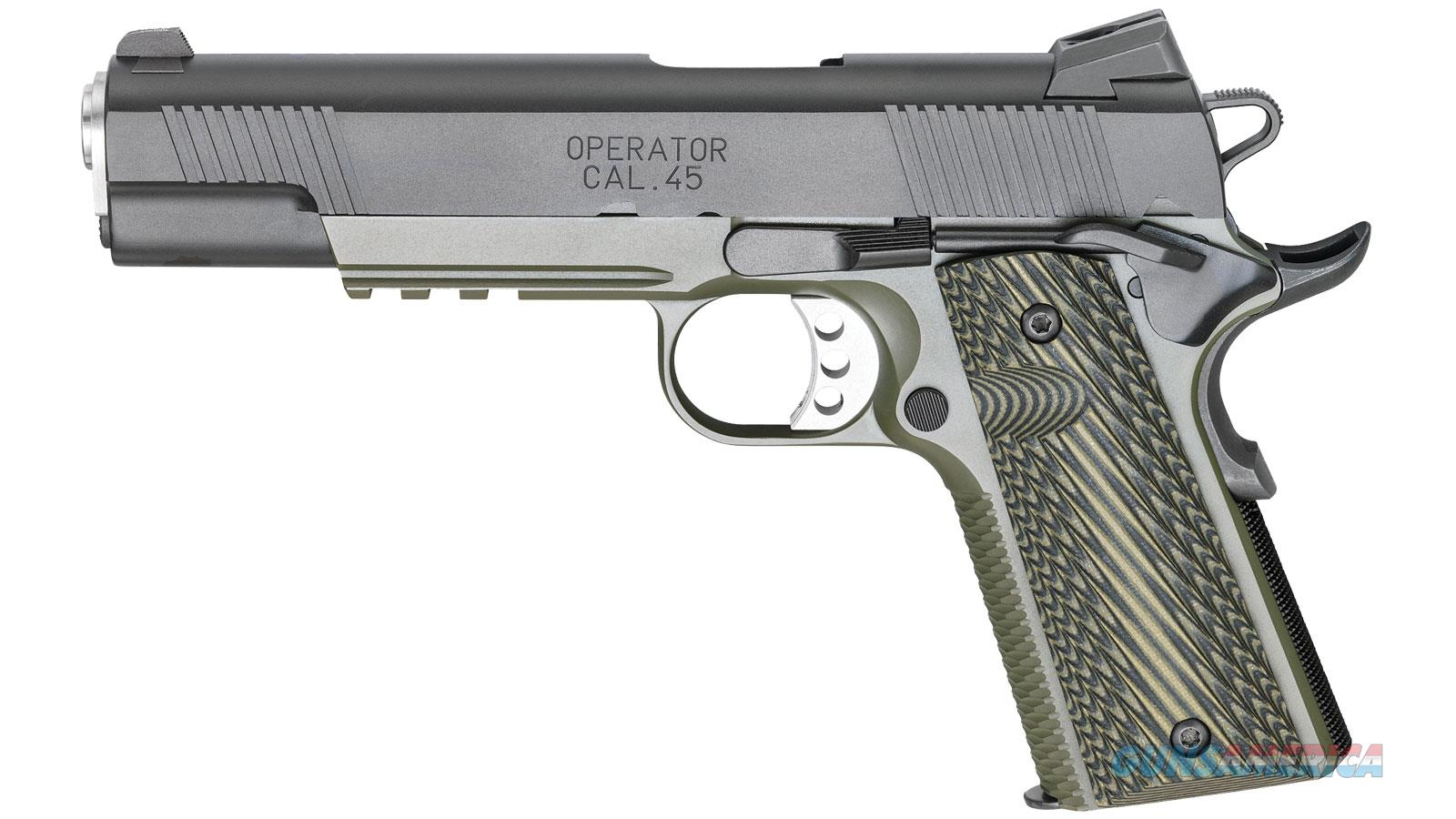 SPRINGFIELD ARMORY 1911 LOADED MC OPER 45ACP PX9110ML  Guns > Pistols > S Misc Pistols