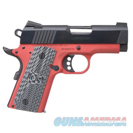 Talo Defender 9Mm 3 Anodised Red Frame CLT O7802XEAR  Guns > Pistols > TU Misc Pistols