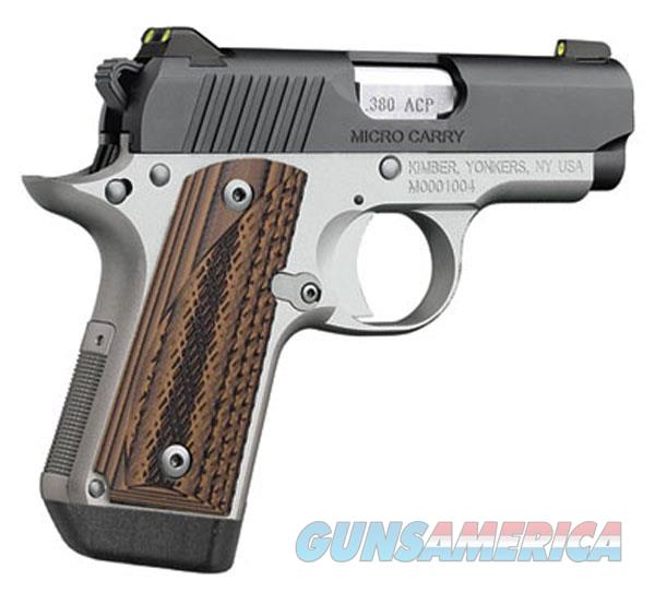Kimber 380Acp Micro Carry Advocate KIM3300085  Guns > Pistols > K Misc Pistols