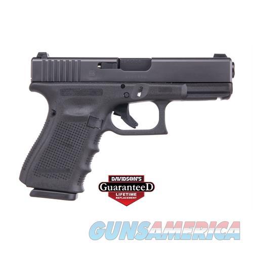 Glock 17 9Mm Gen4 Night Sights 10-Shot Black Front Serrated GPG1750731FS  Guns > Pistols > G Misc Pistols