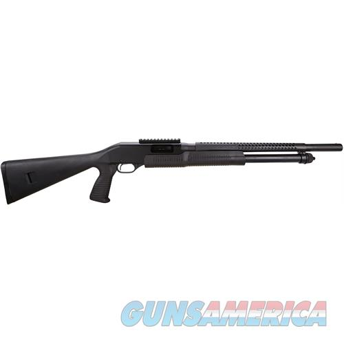 "Savage 19496 320 Pump 12 Gauge 18.5"" 3"" 5+1 Synthetic W/Pistol Grip Black Blued 19496  Guns > Shotguns > S Misc Shotguns"