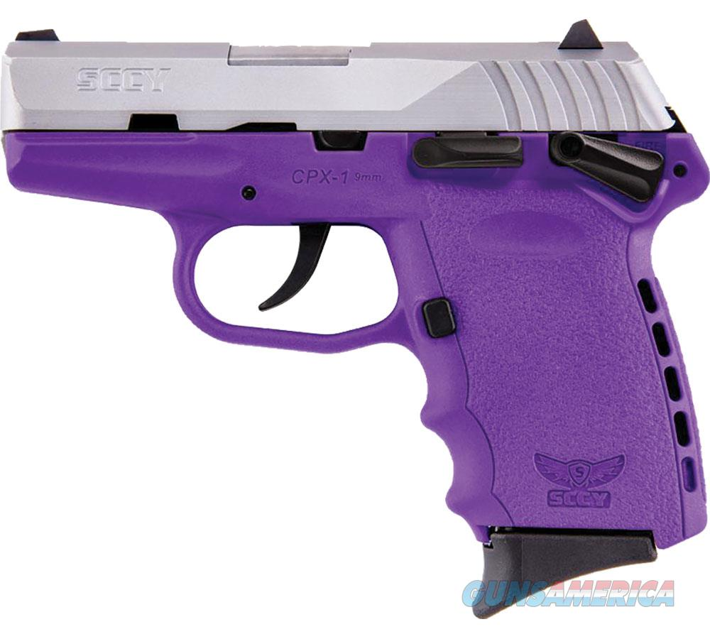 """Sccy Industries Cpx1 9Mm Dao 3.1"""" 10Rd CPX1-TTPU  Guns > Pistols > S Misc Pistols"""