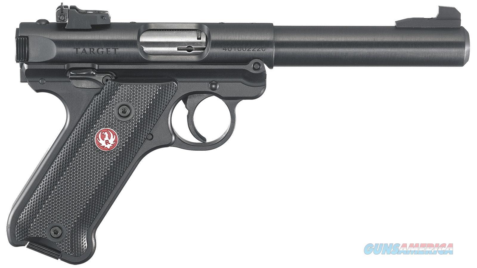 """Ruger Mark Iv Tgt 22Lr 5.5"""" 10Rd 40101  Guns > Pistols > R Misc Pistols"""