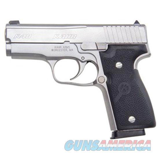 KAHR ARMS K40 40SW 3.5 SS CA LEGAL USED UDK4043A  Guns > Pistols > Kahr Pistols