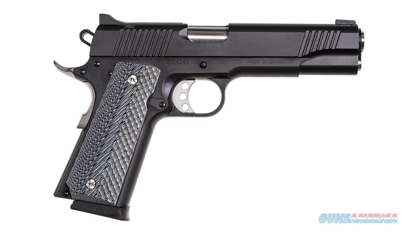 """Magnum Research De1911g Desert Eagle 1911 G Single 45 Automatic Colt Pistol (Acp) 5.1"""" 8+1 Black/Gray G10 Grip Black Carbon Steel DE1911G  Guns > Pistols > Magnum Research Pistols"""