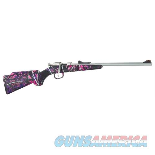 "Henry H005mg Mini Bolt Action Bolt 22 Short/Long/Long Rifle 16.3"" 1 Synthetic Muddy Girl Stk Stainless Steel H005MG  Guns > Rifles > H Misc Rifles"