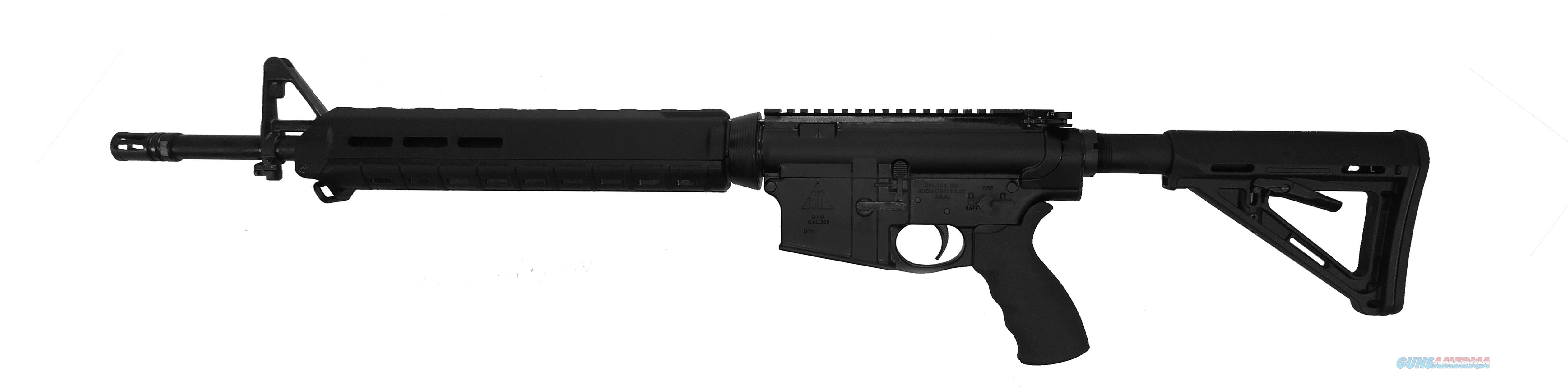 "DEL-TON ALPHA 308 308WIN 18"" BLK 20+1 R3FTH18-MLOK  Guns > Rifles > D Misc Rifles"