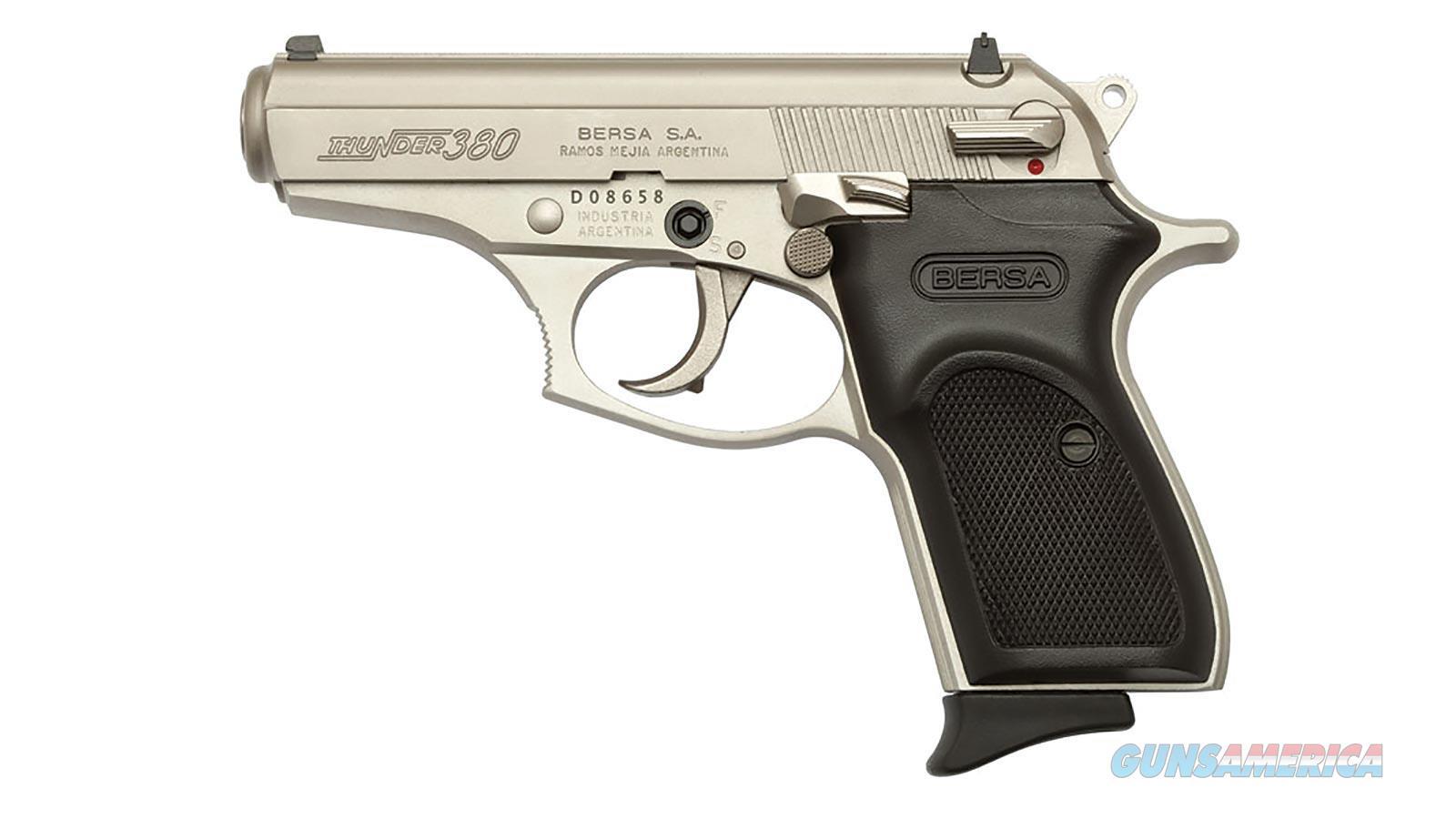 """Bersa T380nkl8 380Acp 3.5"""" 8Rd T380NKL8  Guns > Pistols > B Misc Pistols"""