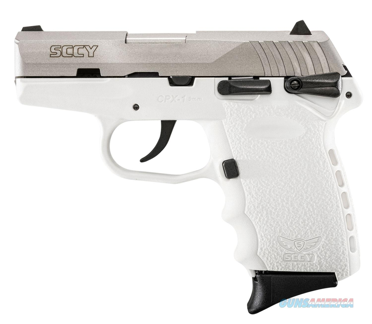 """Sccy Industries Cpx1 9Mm Dao 3.1"""" 10Rd CPX-1TTWT  Guns > Pistols > S Misc Pistols"""
