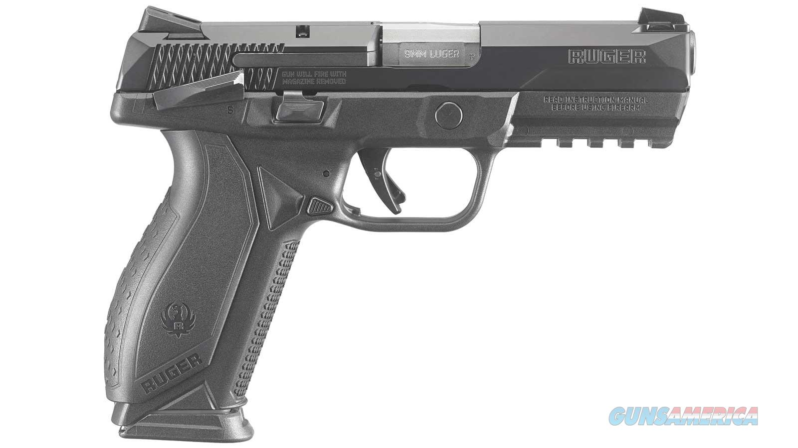 RUGER AMERICAN PISTOL 9MM 4.2 MSAFETY MA LEGAL 8661 Guns > Pistols > Ruger Semi-Auto Pistols > American Pistol