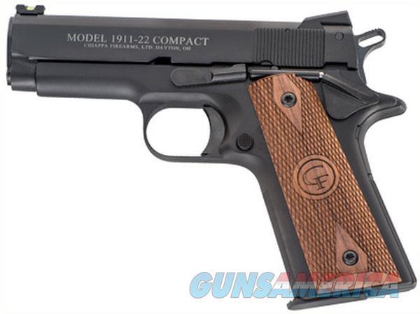 Chiappa Firearms 1911-22 22Lr 4 Compact Novak Fos 10Rd CF401.100  Guns > Pistols > C Misc Pistols