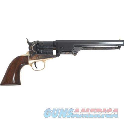 "Cimarron Firearms 1851 Navy Oval Tg .36 Caliber 7.5"" Fs Walnut CA000  Guns > Pistols > C Misc Pistols"