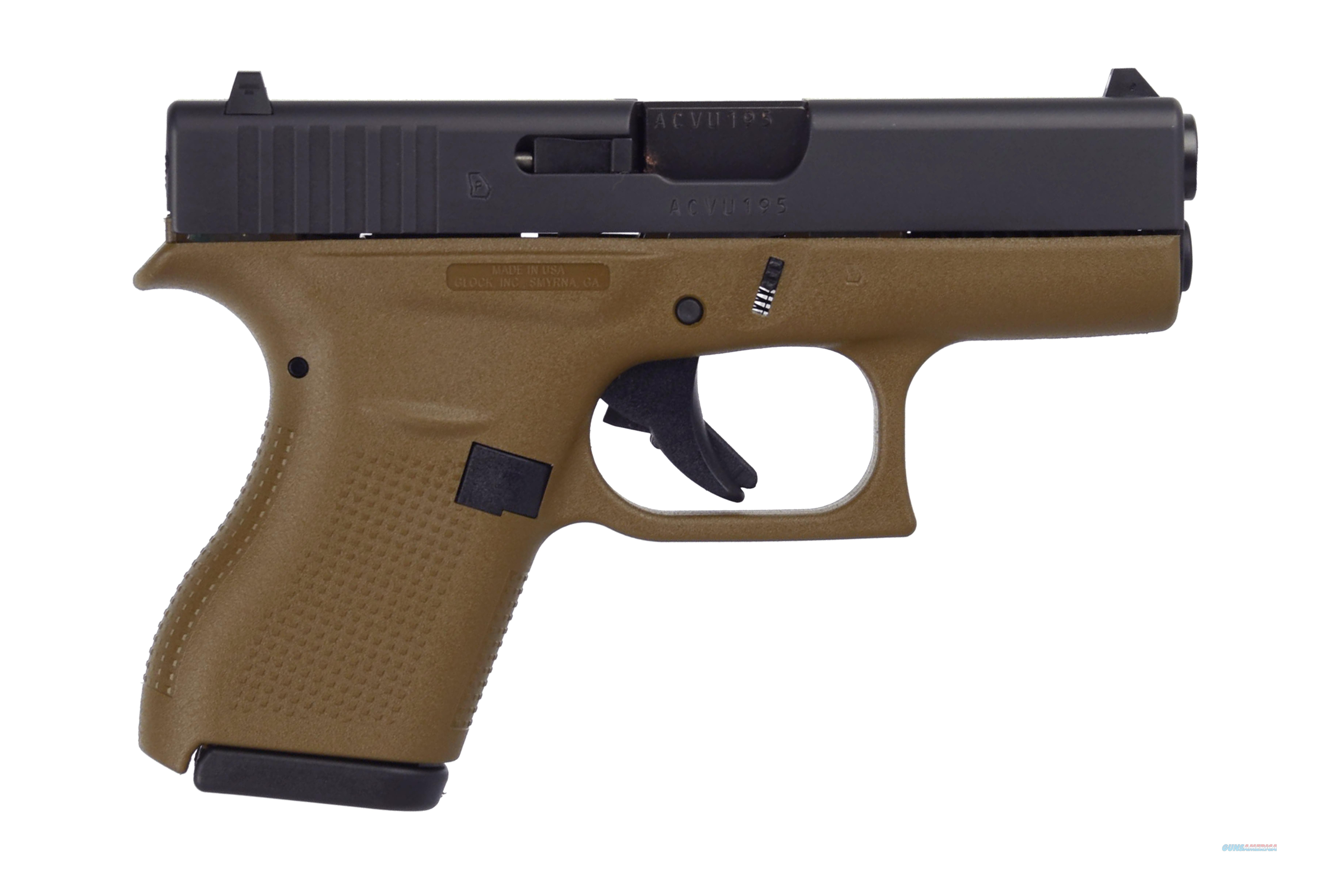 "G42 G3 Fde 380Acp 6+1 3.25"" Fs UI4250201DE  Guns > Pistols > G Misc Pistols"
