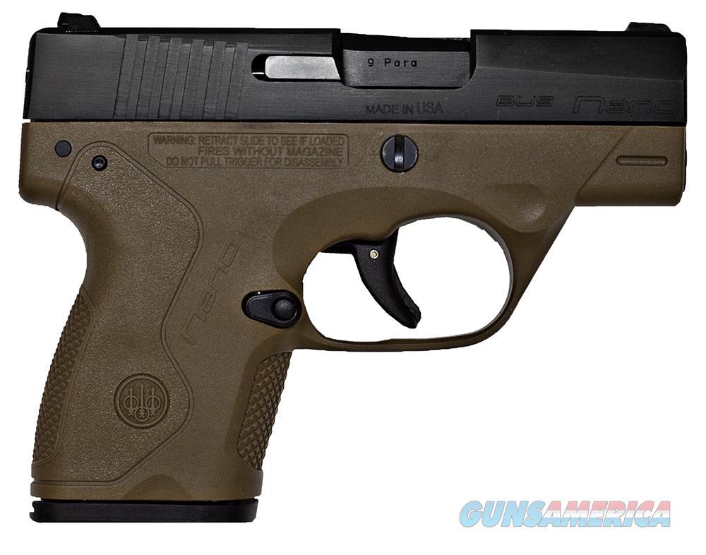 Beretta Nano 9Mm 6&8Rd Poly Fde JMN9S55  Guns > Pistols > B Misc Pistols
