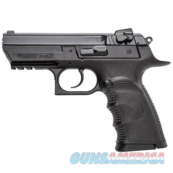 "Magnum Research Be99153rsl Baby Desert Eagle Single/Double 9Mm 3.8"" 16+1 Blk Carbon Steel BE99153RSL  Guns > Pistols > MN Misc Pistols"