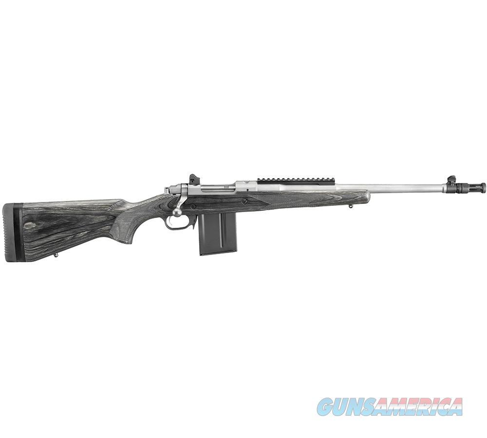 Ruger Bolt-Action Gunsite Scout Rifle 308 Win 18.7''Bbl Mss 6822  Guns > Rifles > R Misc Rifles