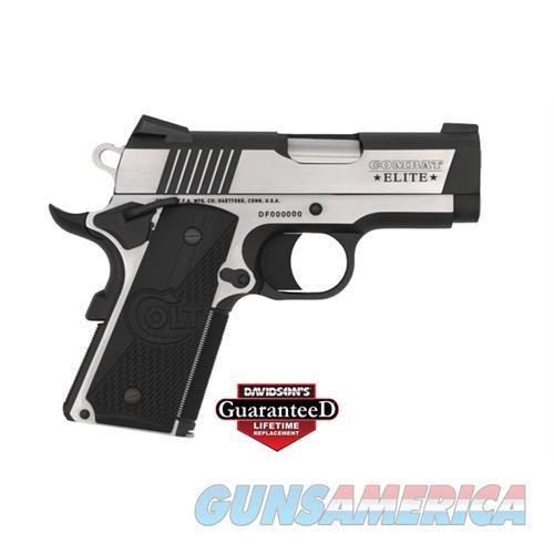 Colt Combat Elite 9Mm Defender 3 Tt-Elite O7082CE  Guns > Pistols > C Misc Pistols