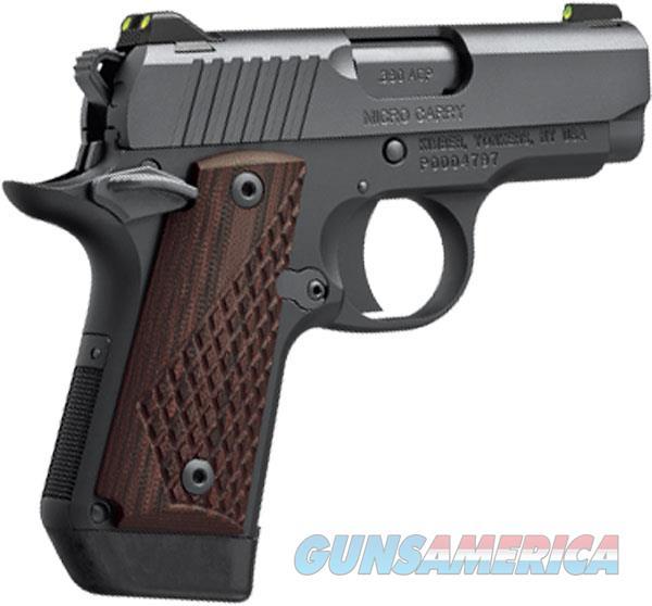 Kimber 380Acp Micro Dc KIM3300095  Guns > Pistols > K Misc Pistols