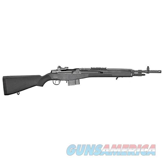 Springfield Armory M1a Scout Squad Blk 308Win 18 Ca Legal AA9126CA  Guns > Rifles > S Misc Rifles