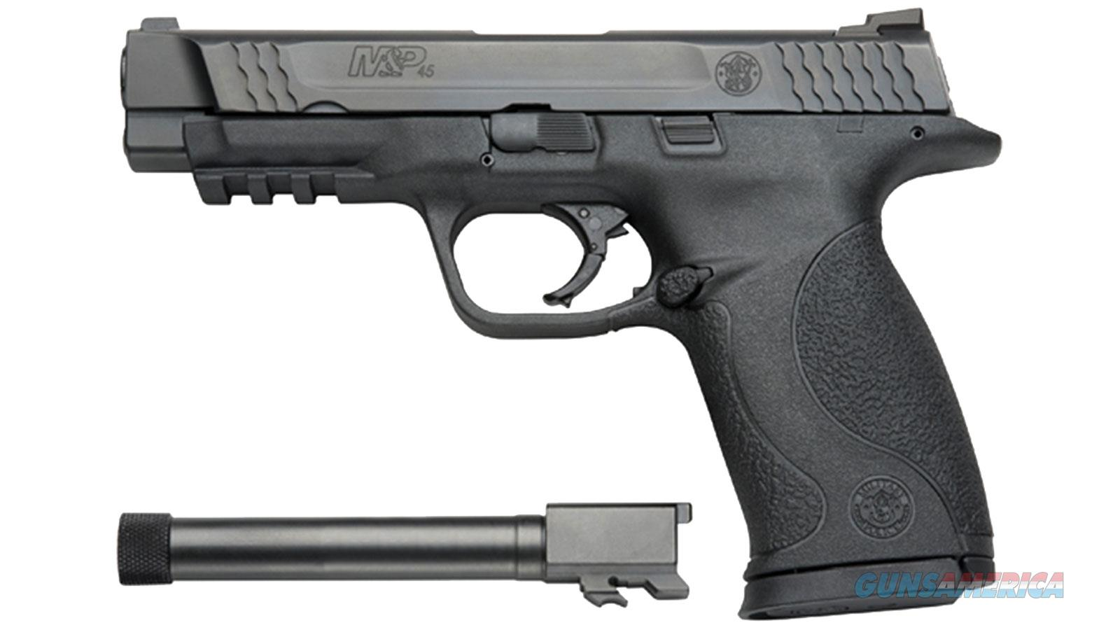 "SMITH & WESSON M&P 45ACP 4.5"" 10RD BL TBKT 150923  Guns > Pistols > Smith & Wesson Pistols - Autos > Polymer Frame"
