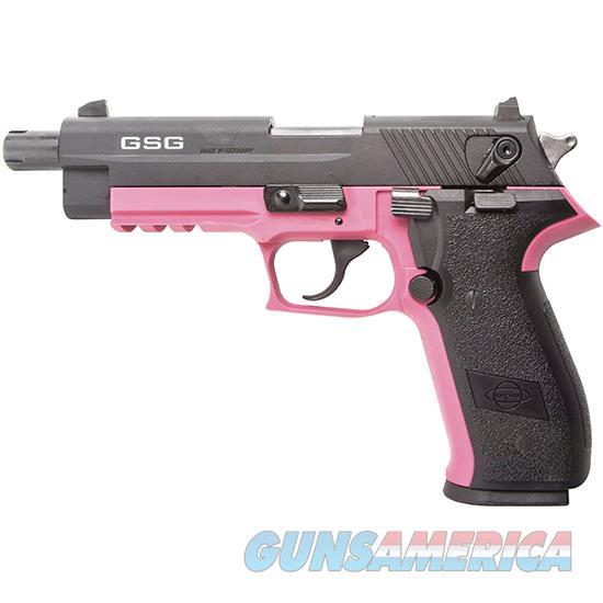 "German Sport Sport Firefly .22Lr 4"" Fs 10Rd Threaded Pink GERG2210TFFP  Guns > Pistols > A Misc Pistols"