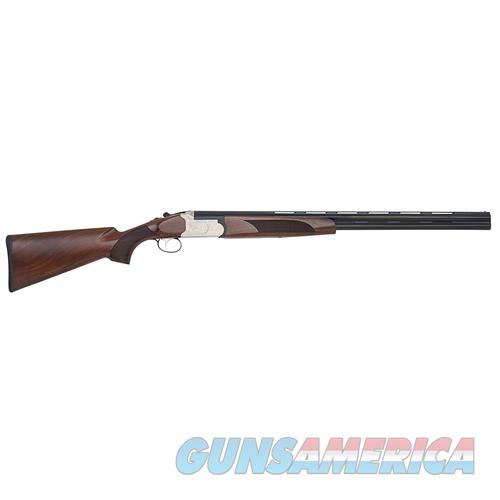 "Mossberg 75457 Silver Reserve Ii Field With Extractors Y Over/Under 20 Gauge 26"" 3"" Black Walnut Stk Silver Engraved Rcvr Blued 75457  Guns > Rifles > MN Misc Rifles"