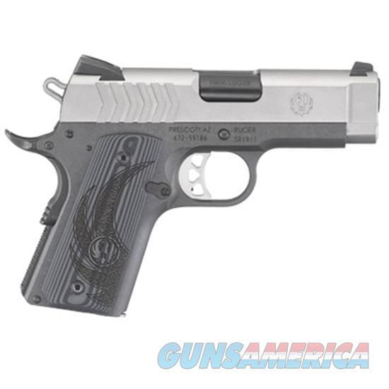 "Ruger Sr1911 9Mm 3.6"" 8Rd G6758  Guns > Pistols > R Misc Pistols"