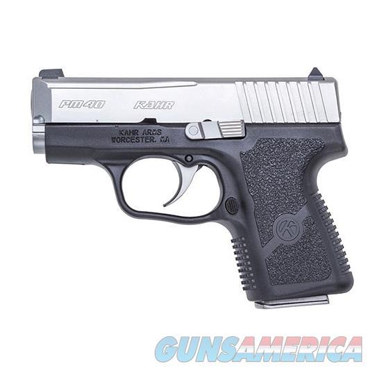 Kahr Arms Pm40 40Sw 3 Blk Poly Matte Ss Ns Blem ZPM4043N  Guns > Pistols > K Misc Pistols