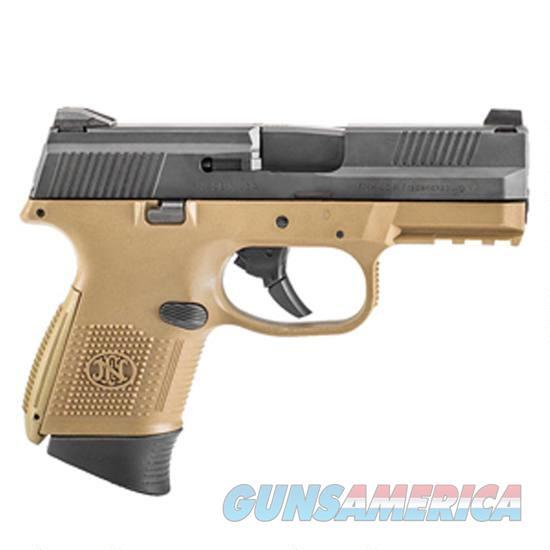 Fns-9C 9Mm Fde/Blk 12+1 Fs 66100354  Guns > Pistols > F Misc Pistols