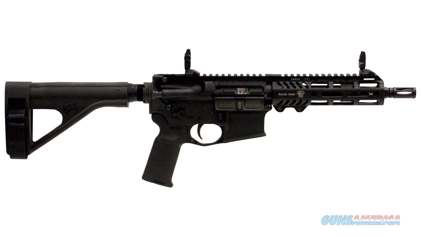 """Adams Arms P2 5.56 7.5"""" Blk Ar Pistol Mlok FGAA-00249  Guns > Rifles > A Misc Rifles"""